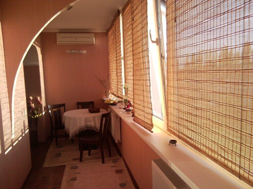 Балкон или лоджия под столовую зону: рациональные идеи.